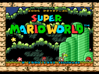 Screenshot Thumbnail / Media File 1 for Super Mario World (USA) [Graphic Hack by Pac v1.21] (All-Stars & Yoshi's Island GFX)